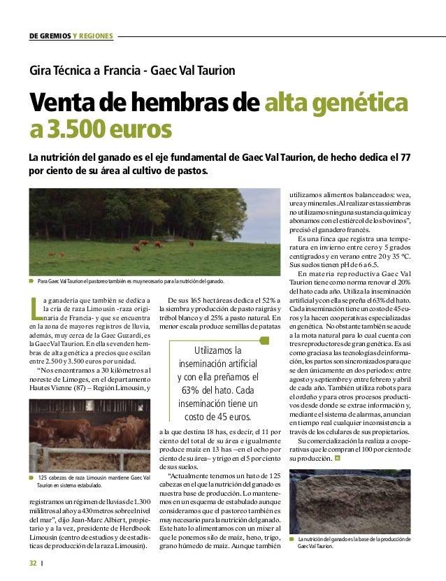 33 FEDERACIÓN COLOMBIANA DE GANADEROS carta fedegÁn N.° 149 FEDEGAN Separata