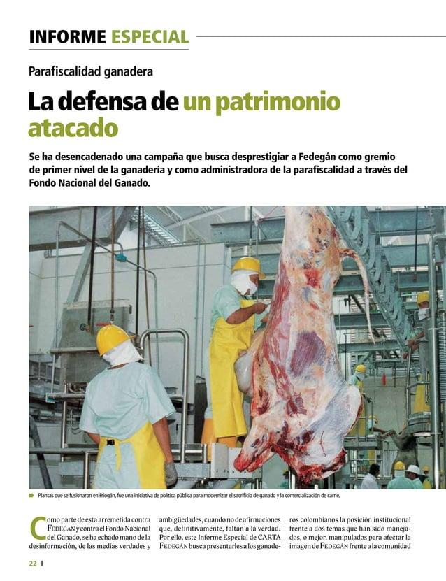 Informe Especial 24 A la defensa de un patrimonio atacado hasta2016.Lasmillonariasinversionesdel FNGydelasplantasquequisie...