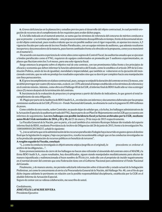 Carta Fedegan 150
