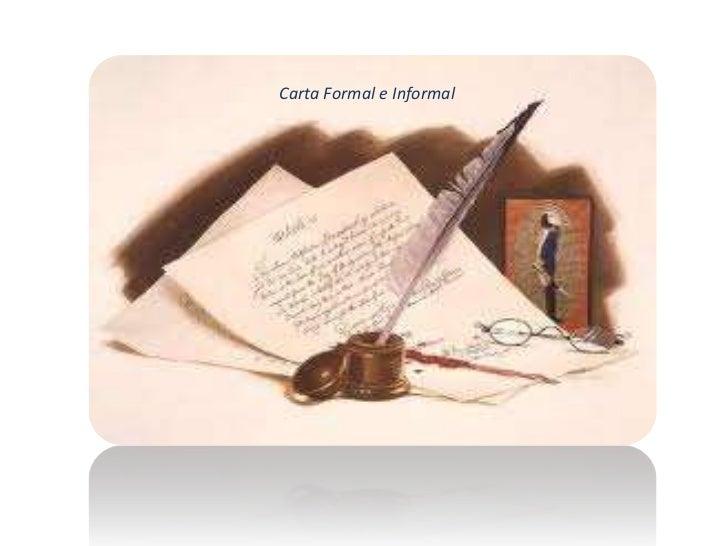 Carta Formal e Informal<br />