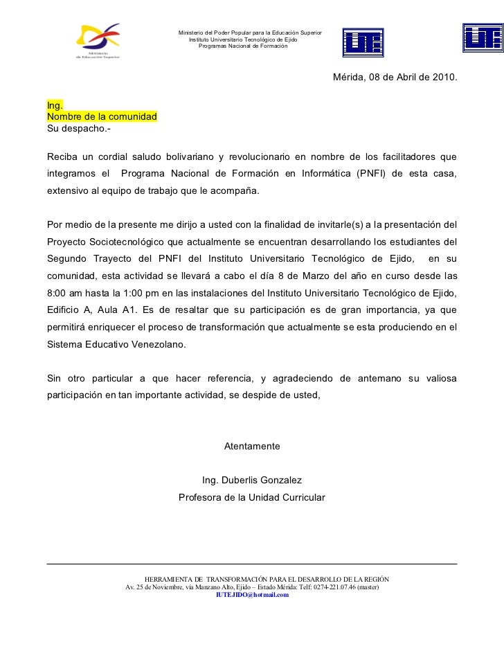Ministerio del Poder Popular para la Educación Superior                                        Instituto Universitario Tec...