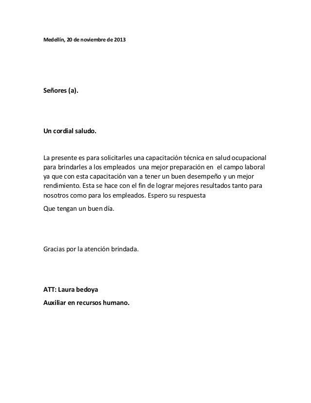 carta de recomendacion para un trabajo