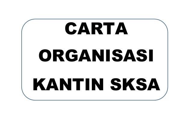CARTA ORGANISASI KANTIN SKSA