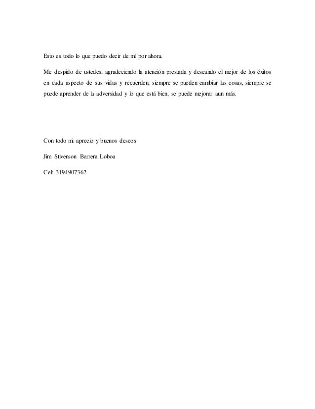 Carta de Presentacion Jim Slide 3