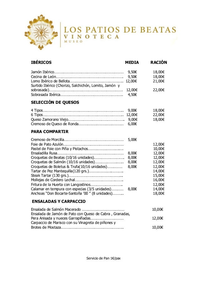 Wordpress Carta Restaurante Carta Del Restaurante Italiano