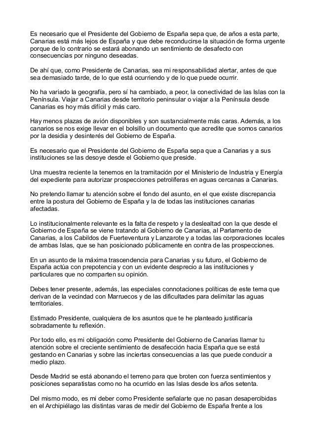 Carta de Paulino Rivero a Mariano Rajoy nov_2013 Slide 3