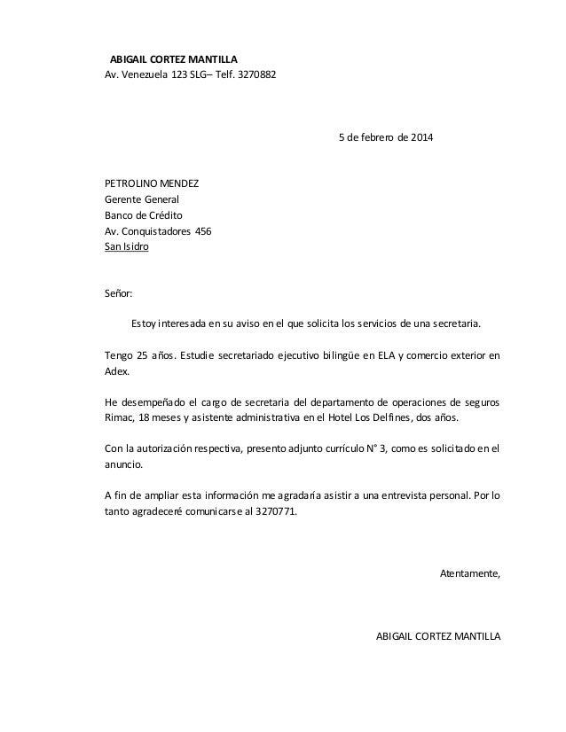 ejemplos de cartas de solicitudes