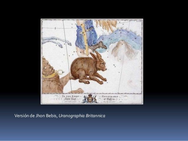 Versión de Jhon Bebis, Uranographia Britannica