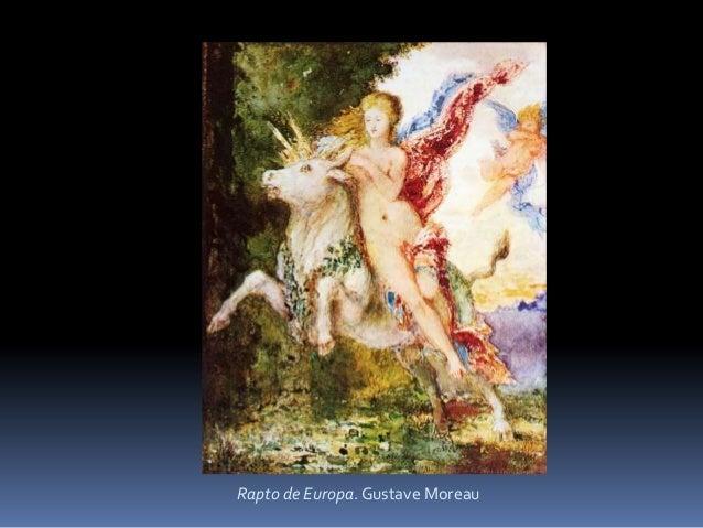 Rapto de Europa. Gustave Moreau