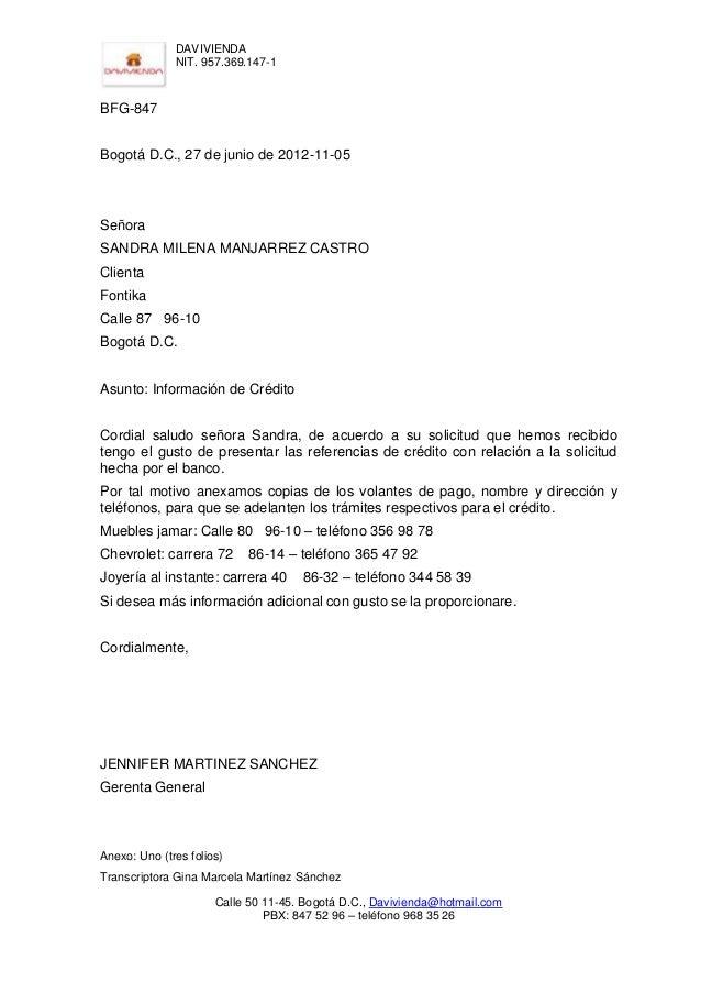Cartas externas 5 for Solicitud de chequera