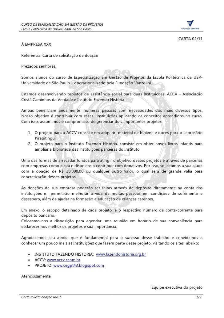 CURSO DE ESPECIALIZAÇÃO EM GESTÃO DE PROJETOSEscola Politécnica da Universidade de São Paulo                              ...