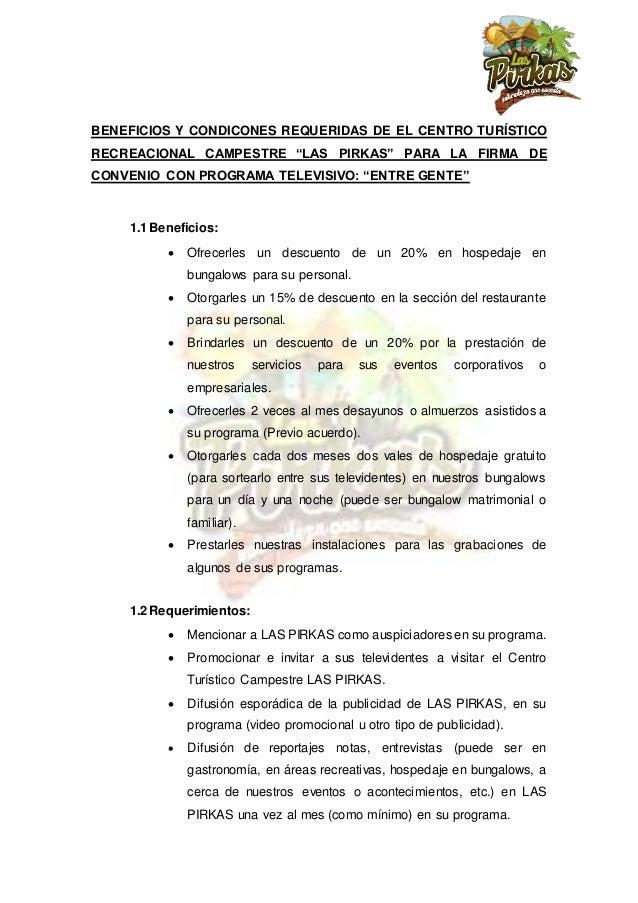 Carta solicitud de convenio