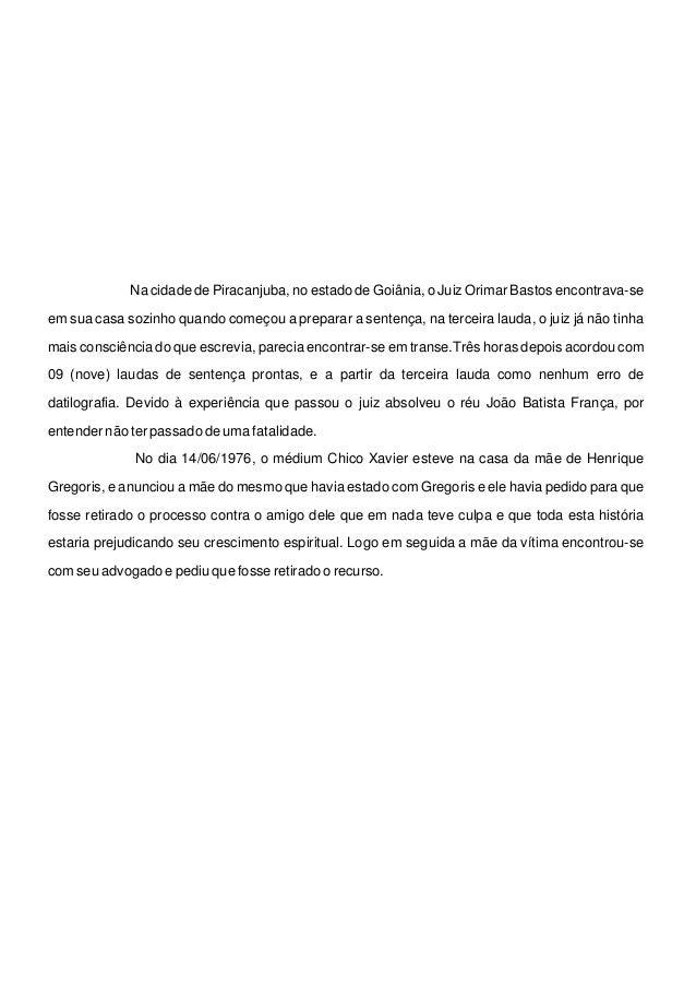 Super Cartas psicografadas monografia HX66