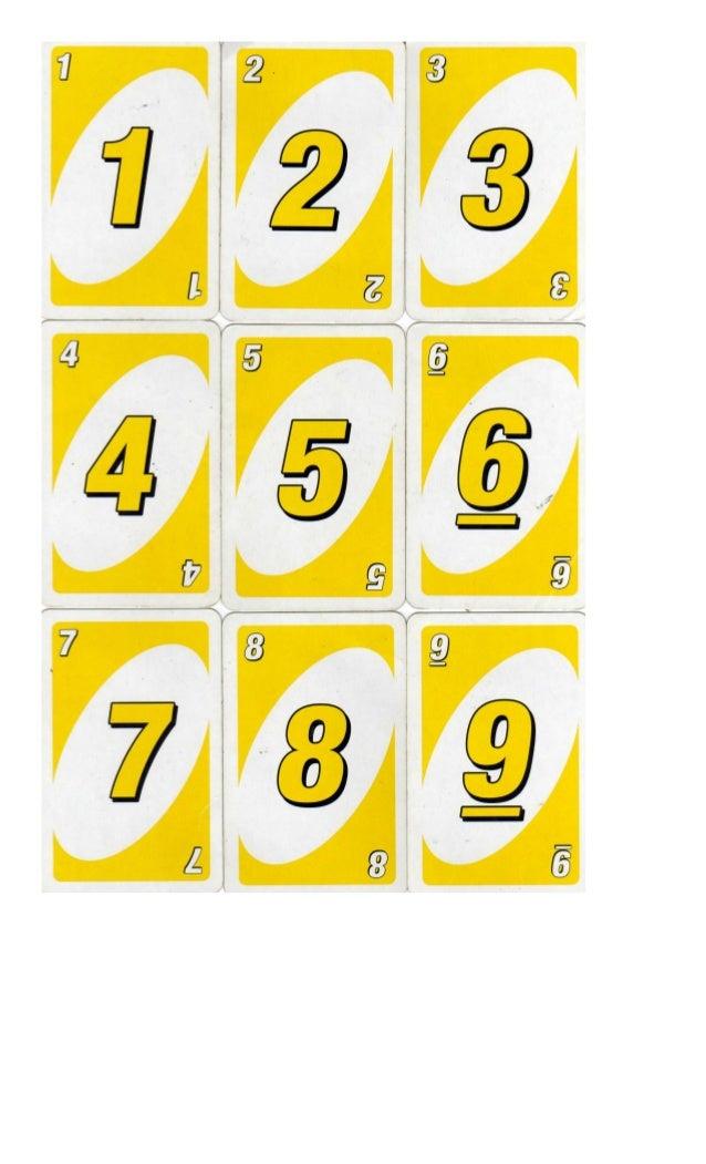 cartas uno