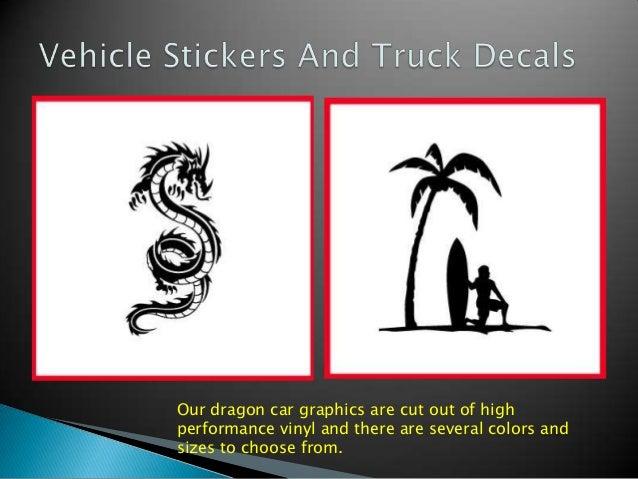 Custom Car Stickers Vinyl Car Decals Truck Graphics Decals