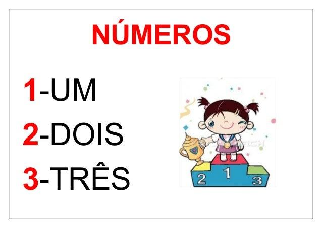 Cartaz De Numeros