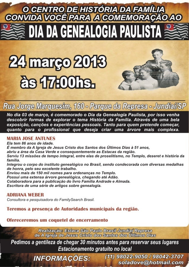 Cartaz dia da genealogia paul. (1)