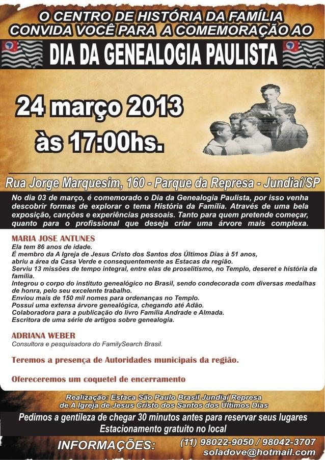 Cartaz dia da genealogia paul. (1)