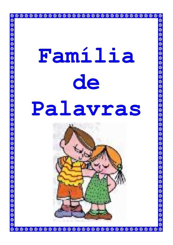 Família   dePalavras