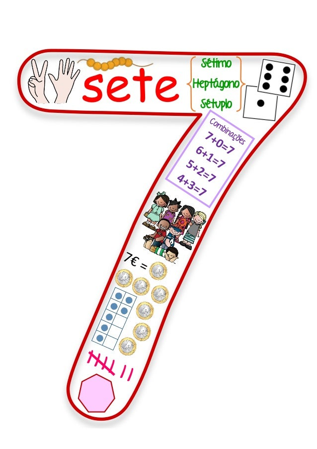 sete Sétimo Heptágono Sétuplo