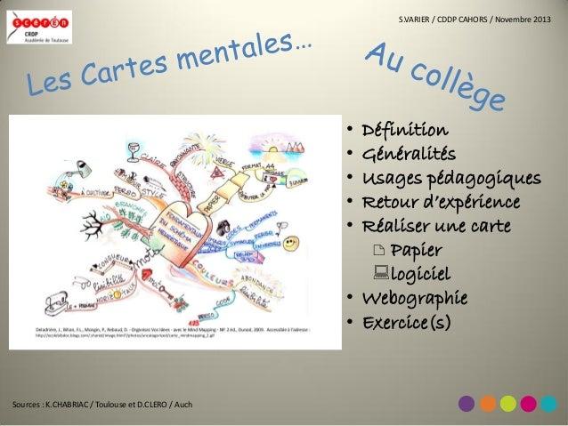 S.VARIER / CDDP CAHORS / Novembre 2013  • • • • •  Définition Généralités Usages pédagogiques Retour d'expérience Réaliser...