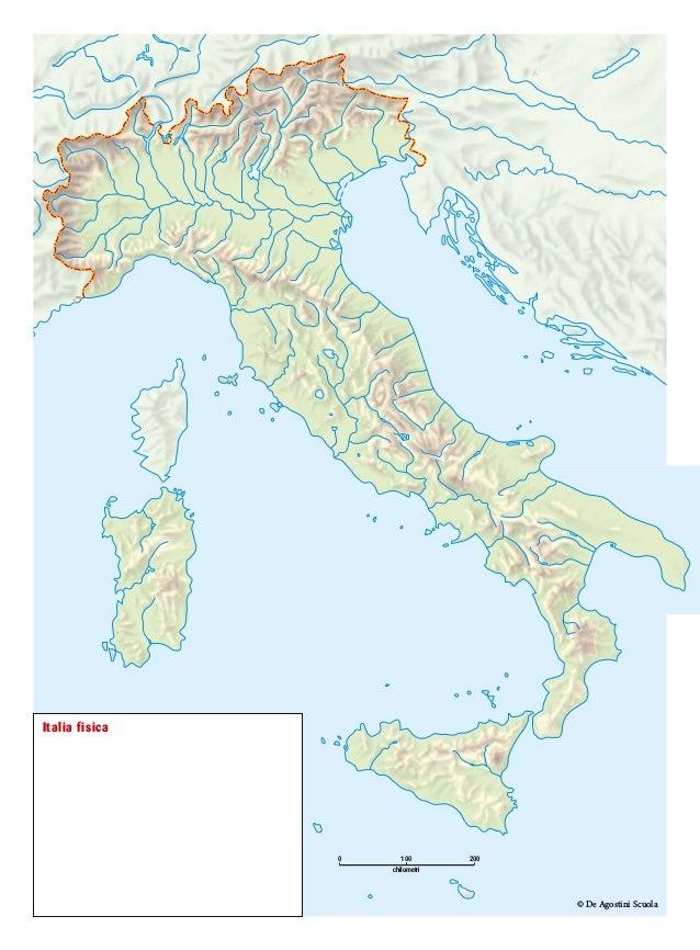 Cartina Muta Italia Politica Con Capoluoghi.Carte Mute