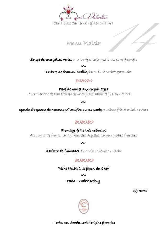 Christophe Carlier- Chef des cuisines Menu Plaisir Soupe de courgettes vertes aux truffes tuber estivum et œuf confit Ou T...