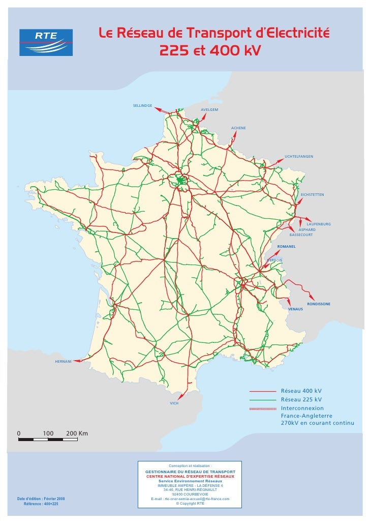 carte de france nationale 6