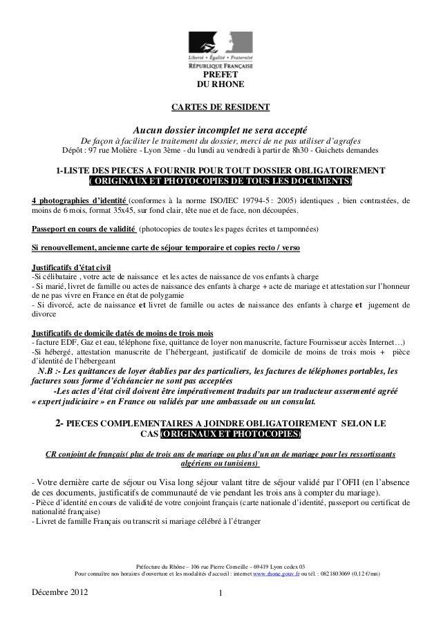 dossier regroupement familial ofii