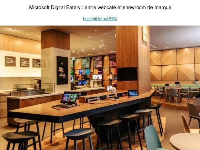 Microsoft Digital Eatery : entre webcafé et showroom de marque http://bit.ly/1sAEiBX