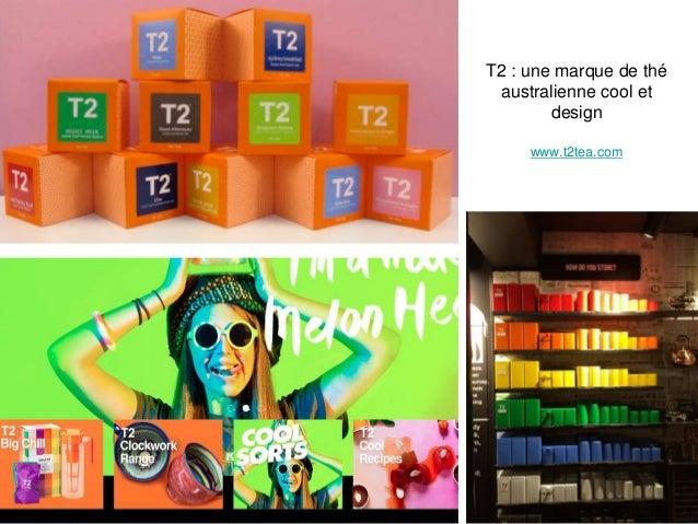 T2 : une marque de thé australienne cool et design www.t2tea.com