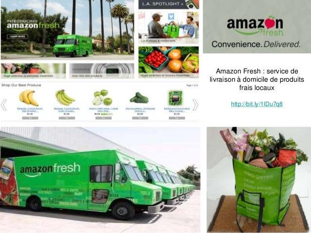 Amazon Fresh : service de livraison à domicile de produits frais locaux http://bit.ly/1lDu7q8 12