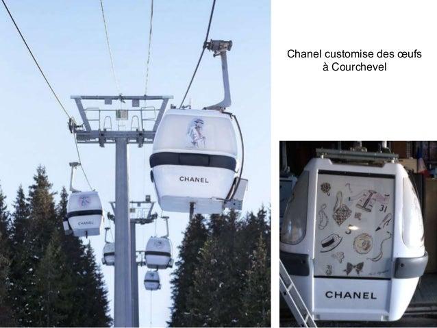 Chanel customise des œufs à Courchevel