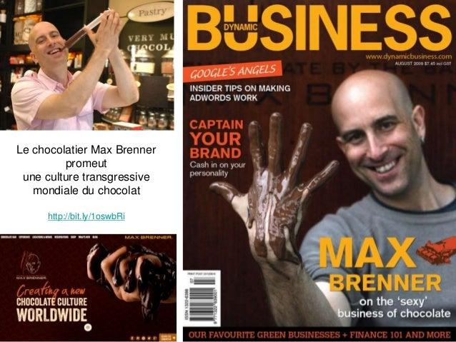 Le chocolatier Max Brenner promeut une culture transgressive mondiale du chocolat http://bit.ly/1oswbRi