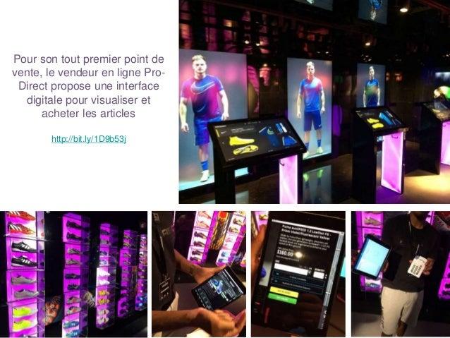 Pour son tout premier point de vente, le vendeur en ligne Pro- Direct propose une interface digitale pour visualiser et ac...