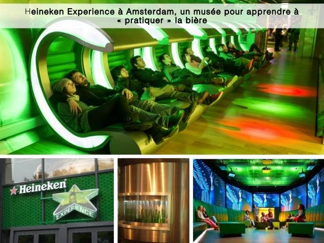 Heineken Experience à Amsterdam, un musée pour apprendre à « pratiquer » la bière