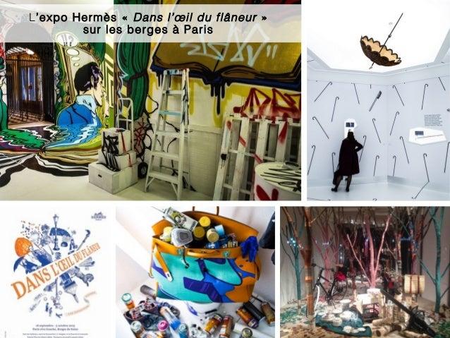 8 L'expo Hermès «Dans l'œil du flâneur » sur les berges à Paris