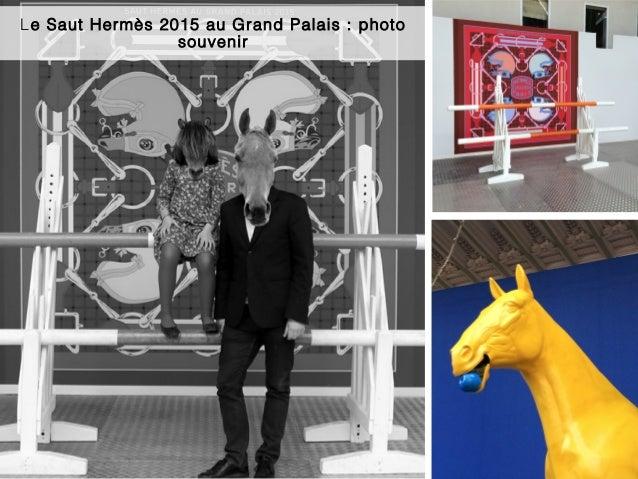 Le Saut Hermès 2015 au Grand Palais : photo souvenir