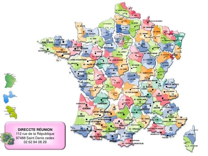 DIRECCTE MARTINIQUE centre administratif Delgres  BP 653  97263 Fort de France cedex 05 96 71 15 00