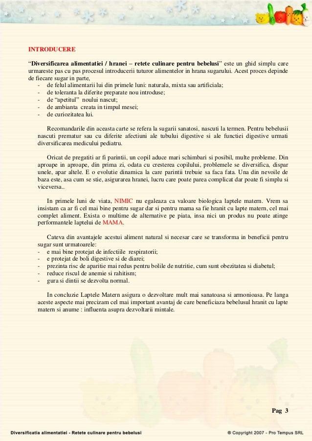 Carte electronica   diversificarea alimentatiei Slide 3