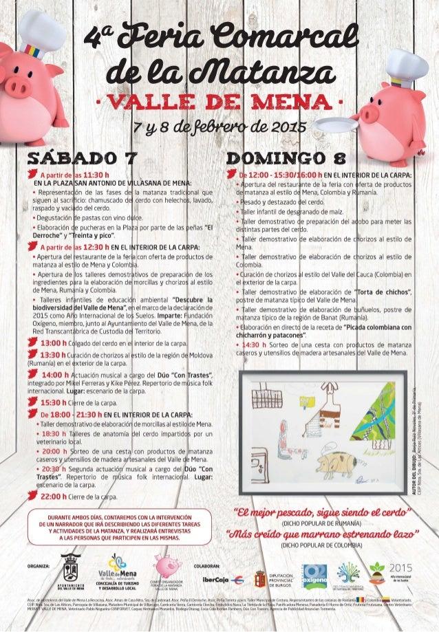 ' A partir de as 11:30 h ,         EN LA PLAZA SAN ANTONIO DE¡ LLCASANA DE MEN :  0 Representa ón de las fases de Ia matan...