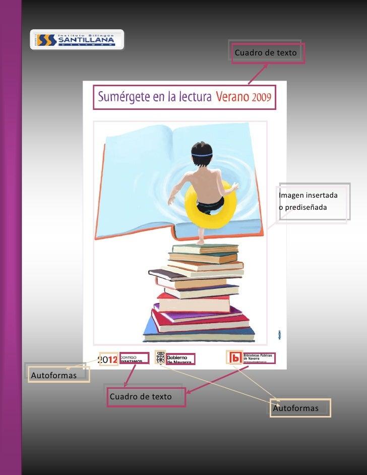 Cuadro de texto                                         Imagen insertada                                         o predise...