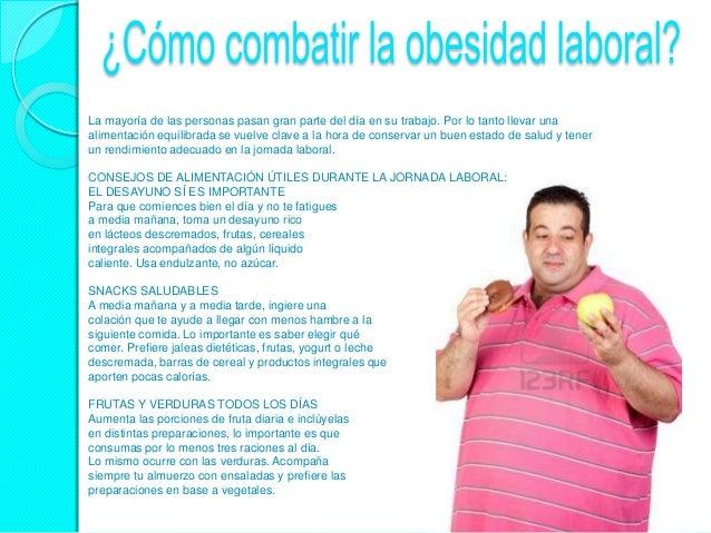 Cartel 5 c mo combatir la obesidad laboral - Como combatir la carcoma ...