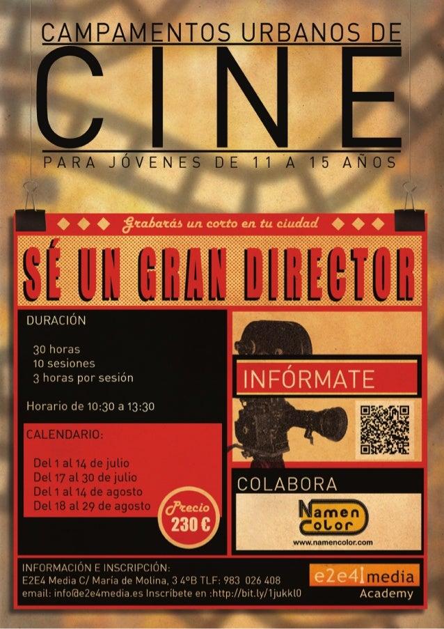 Campamento de Cine Urbano'14