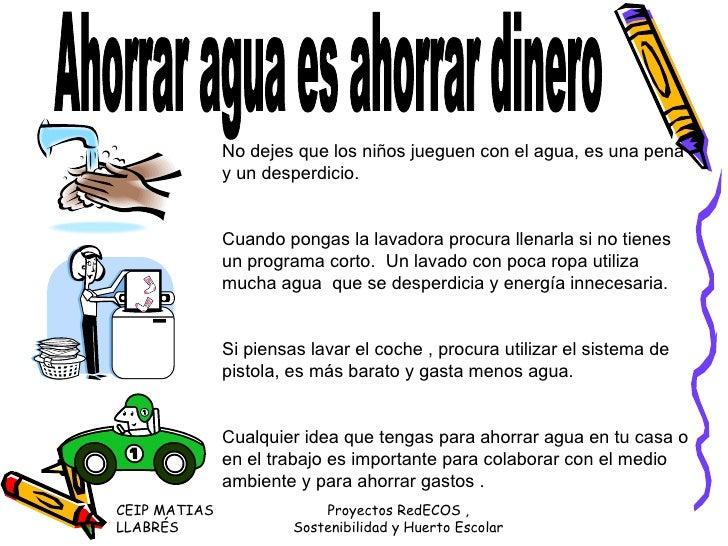 Carteles para padres madres - Como ahorrar agua y luz ...