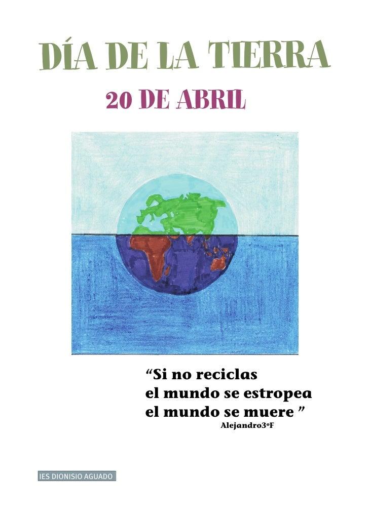 Carteles Día de la Tierra 2007