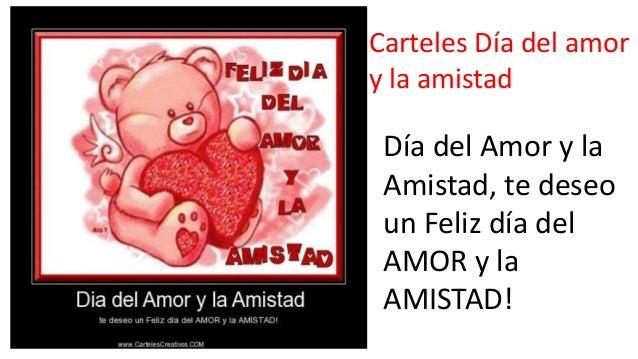 3. Carteles Día del amor ...