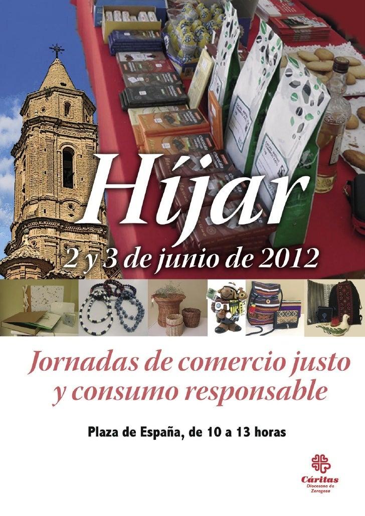 Jornadas de Comercio Justo y Consumo Responsable en Híjar