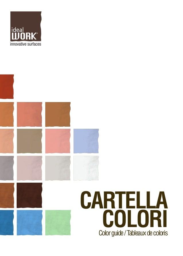 CARTELLA COLORIColorguide/Tableauxdecoloris