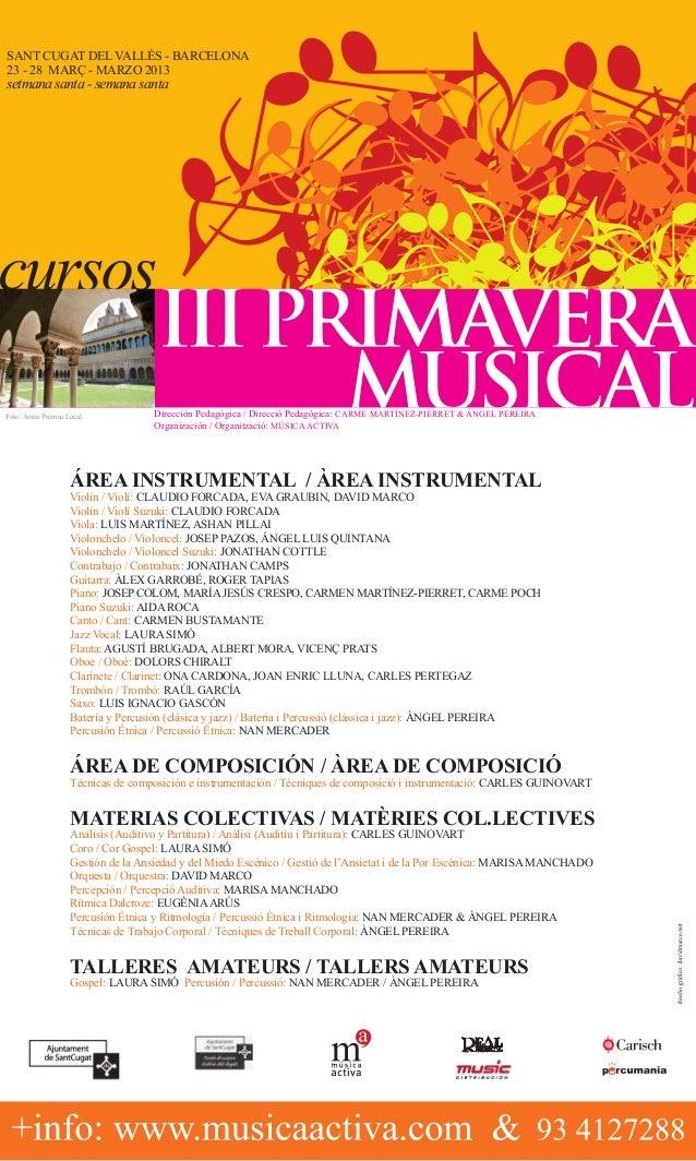 Sant Cugat del VallÈs - Barcelona23 - 28 març - marzo 2013setmana santa - semana santaFoto: Arxiu Premsa Local            ...